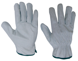 Leather Gloves White GP550