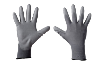 Nylon Gloves Grey GS202